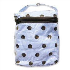<strong>Trend Lab</strong> Insulated Bottle Bag in Max Polka Dot Blue
