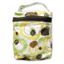 Insulated Bottle Bag in Giggles Green
