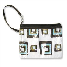 Chocolate Blocks Zipper Pouch Diaper Bag