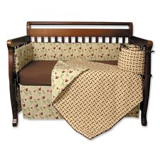 <strong>Trend Lab</strong> Jungle Jam 4 Piece Crib Bedding Set