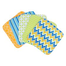 <strong>Trend Lab</strong> Levi Bouquet Wash Cloth (Set of 5)