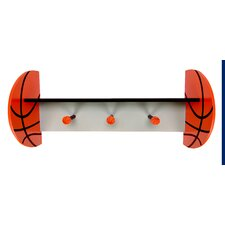 MVP Wall Shelf with Basketball