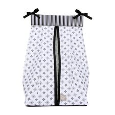 Medallions Diaper Stacker