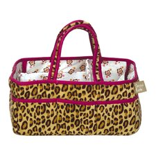Berry Leopard Storage Caddy