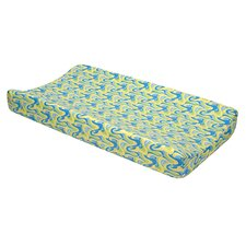 <strong>Trend Lab</strong> Dr. Seuss Oh, The Places You'll Go! Changing Pad Cover