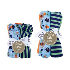 Sunggle Monster Bouquet Set with Bibs and Burp Cloths