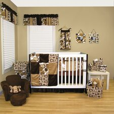 Bubbles 4 Piece Crib Bedding Set