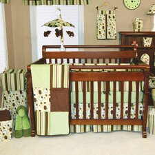 Giggles 3 Piece Crib Bedding Set
