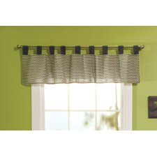 Perfectly Preppy Cotton Tap Top Curtain Valance