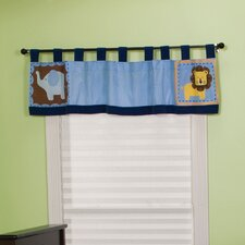 "Jungle 123 Table Top 56"" Curtain Valance"