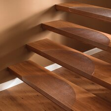 Ultimat Cleartex Half Moon Stair Treads for Hard Floors