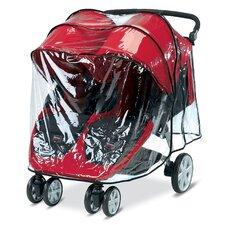 B-Agile Double Stroller Rain Cover