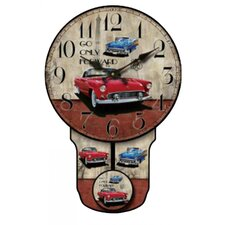 Classic Car Wall Clock