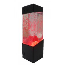 "Volcanic Battery Operated 9.05"" H Table Lamp with Square Shade"