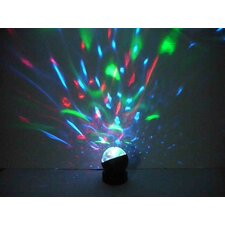 "3.74"" Battery-Operated Rotative Kaleidoscope Light"