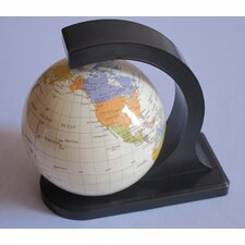 Floating Rotating Globe on a Stand
