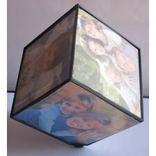 Rotating Cube Picture Frame