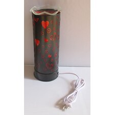 "Aroma Heart 11"" H Table Lamp"