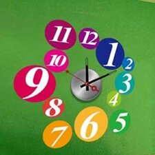 Do It Yourself Ball Wall Clock