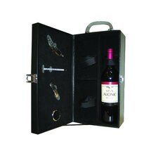 Leather 2 Bottle Wine Case