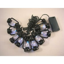 10 Light LED Lantern Rope Light
