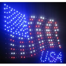 USA Flag LED Sign
