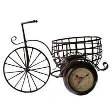 Tricycle Wall Clock