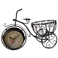 <strong>Creative Motion</strong> Tricycle Table Clock