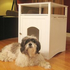<strong>Merry Products</strong> Nightstand Pet Crate & Litter Box Enclosure