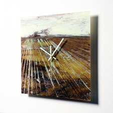"<strong>HangTime Designs</strong> 15"" Counting Rows Wall Clock"