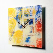 Rainbow Seekers Wall Clock