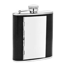 6 Oz. Leather Cigarette Flask
