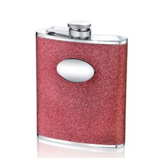 6 Oz. Glitter Flask