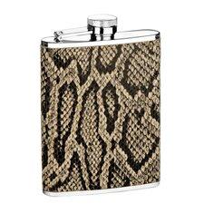 6 Oz. Snake Flask