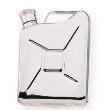 6 Oz. Stainless Steel Gas Tank Flask