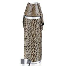 10 Oz. Crocodile Tube Flask