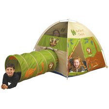 <strong>Pacific Play Tents</strong> Jungle Safari Play Tent and Tunnel Combination