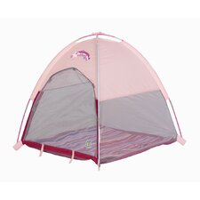 "<strong>Pacific Play Tents</strong> Baby Suite II Deluxe Lil Nursery Tent with 0.5"" Pad"