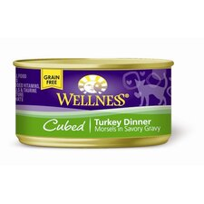 Cubed Turkey Canned Cat Food (3-oz, case of 24)