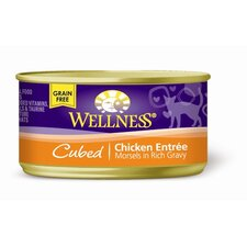 Cubed Chicken Canned Cat Food (3-oz, case of 24)