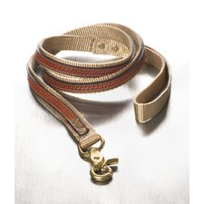 Cooper with Antique Leather Overlay Dog Leash