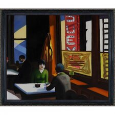 <strong>Tori Home</strong> Hopper Chop Suey Hand Painted Oil on Canvas Wall Art