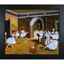 <strong>Tori Home</strong> Degas Dance Studio at the Opera Hand Painted Oil on Canvas Wall Art