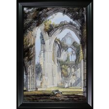 Tintern Abbey by Turner Framed Original Painting