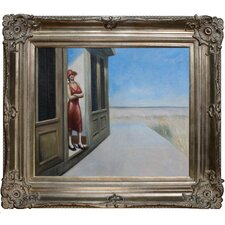 <strong>Tori Home</strong> Hopper South Carolina Morning Hand Painted Oil on Canvas Wall Art