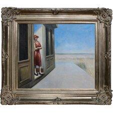 South Carolina Morning by Hopper Framed Original Painting