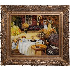 Monet The Luncheon Hand Painted Oil on Canvas Wall Art