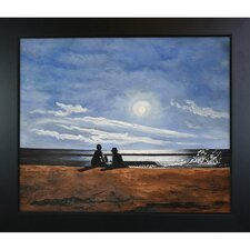 Homer Moonlight Hand Painted Oil on Canvas Wall Art