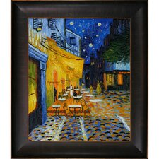 Van GoghCafe Terrace at Night Hand Painted Oil on Canvas Wall Art