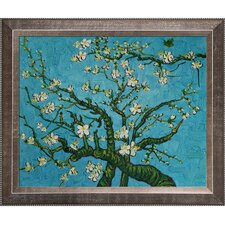 Branches of an Almond Tree in Blossom by Van Gogh Framed Original Painting